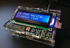 Radio Pi Plate with LCD display