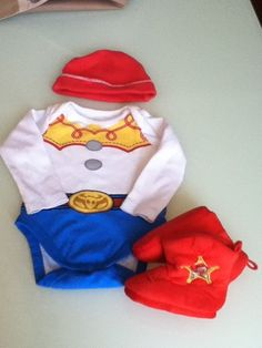 VGUC Jessie Disney Toy Story Costume Baby Girl size 6-12 Complete Costume