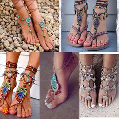 Mas ideas para decorar tus pies este verano.