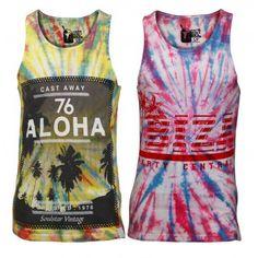 a45ad1bbc3d Men Soul Star LOHA Print Summer Vest Top Summer Vest