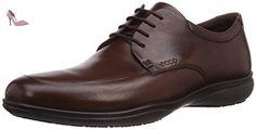Ecco  Grenoble, Derbies à lacets homme - Marron - Braun (DarkClaySuede01014), 45 EU - Chaussures ecco (*Partner-Link)
