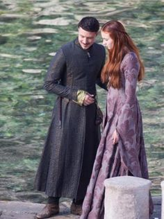 Shots From Game of Thrones Season 3 Set, Sansa, Littlefinger | The Mary Sue