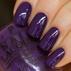 Double tap|| #livinthepurplelife #nails #darkpurple #nailpolish