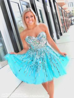 You will definitely turn heads and make jaws drop in this adorable short homecoming dress! And it's at Rsvp Prom and Pageant, your source for the HOTTEST homecoming, prom and pageant dresses! Aqua Prom Dress, Pageant Dresses, Homecoming Dresses, Sexy Dresses, Strapless Dress Formal, Short Dresses, Aqua Dresses, Formal Dresses, Mermaid Dresses