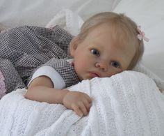 Doves Nursery ♥ Realistic Reborn Baby Girl ♥ Rainer Sculpt by Romie Strydom