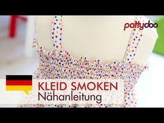 Stoff mit der Nähmaschine smoken | Smocking fabric with a sewing machine | pattydoo Blog