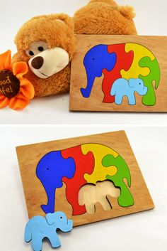 Eco Rainbow Elephants for kids! A Great Gift for your son or daughter!