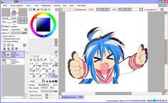 Paint Tool Sai официальный сайт скачать - фото 6