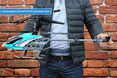 Giant Remote Control Helicopter
