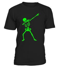 Celebrate Halloween this October 31st with this fun dabbing skeleton t-shirt. Wear this dab position skeleton tee shirt at Halloween parties, events & trick or treating collecting candy. This creepy dab dance human skeleton Tshirt is great for Hallows Eve   Get your Halloween party groove on while wearing this awesome ghoul dead skeleton Halloween costume fancy dress character. This fun dabbing All Hallows' Eve clothing & apparel will make everyone jealous!