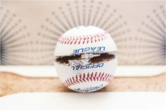 Wedding: Tim & Brittnee: W Hotel// Downtown San Diego, CA » Analisa Joy Photography // weddings rings in baseball