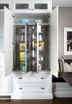 Pantry Storage In A Traditional Kitchen Jane Lockhart Interior Design