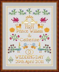 "Henry VIII /& 6 Wives Cross Stitch Chart 13/""x16/"" 14ct"