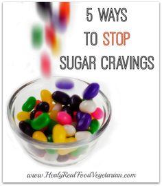 5 Ways to Stop Sugar Cravings