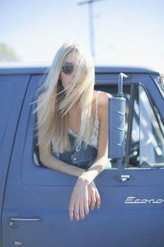 white blonde gorgeous.