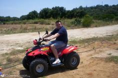 On a Quad Bike in Corfu added by Daisy