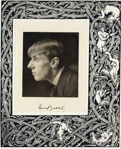 Aubrey Vincent Beardsley (21 August 1872 – 16 March 1898) was an English illustrator & author. His drawings in black ink, influenced by the style of Japanese woodcuts, emphasized the grotesque, decadent, & erotic. He was a leading figure in the Aesthetic movement which included Oscar Wilde and James A. McNeill Whistler. Beardsley's contribution to the development of the Art Nouveau & poster styles was significant, despite the brevity of his career before his early death from tuberculosis.