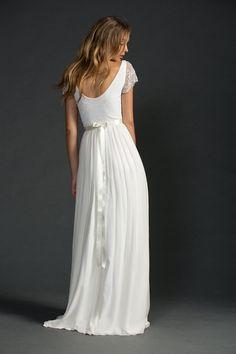 Grace loves lace lace wedding dress por Graceloveslace en Etsy