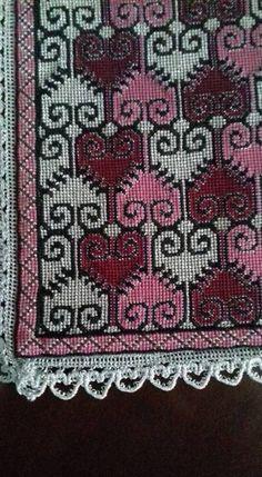 Cross Stitching, Cross Stitch Embroidery, Cross Stitch Patterns, Cross Stitch Heart, Cross Stitch Flowers, Crochet Diagram, Knitting Needles, Needlepoint, Needlework