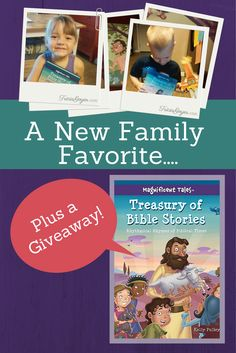 "book giveaway ""Treasury of Bible Stories""!! ends October 4, 2014"