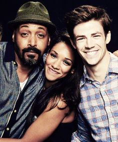 #the flash#candice patton#jesse l. martin