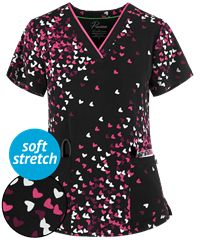 Print Scrub Tops for Women: Large Selection and Discount Pricing at UA Cute Scrubs Uniform, Scrub Tops, Discount Price, The Selection, Blouse, Women, Style, Fashion, Swag