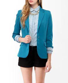<3 blazers!  Cuffed Blazer   FOREVER21 - 2072495817