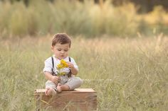 Handsome One Year Old Boy | Raleigh Baby Photographer | Be True Baby | Raleigh Wake Forest Newborn Baby Maternity Family Photographer