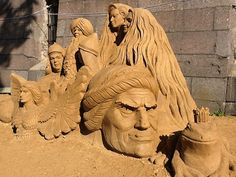 Sand Sculpture Festival in St Petersburg 2014 - Courtesy of Dancing Bear Tours - Private St Petersburg Tours & Shore Excursions - http://dancing-bear-tours.com