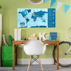 Eames, Office Desk, Chair, Furniture, Home Decor, Desk Office, Decoration Home, Desk, Room Decor