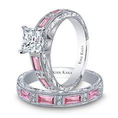 KIRK KARA diamonds and pink sapphires.
