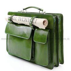 ital-Aktentasche-Aktenkoffer-Tasche-Koffer-Glattleder-Leder-Akten-Business-NL01