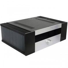Boitier DIY 100% Aluminium pour Amplificateur Intégré 431x310x145mm / Cet élégant boîtier DIY 100% Aluminium robuste et massif est tout indiqué pour vos conceptions DIY d'amplificateurs de fortes puissances et d'amplificateurs intégrés.