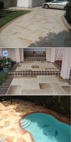 This business provides decorative stamped concrete services for home and commercial clients. They do concrete overlay countertops, patios, decks, and more. Check out their service lifetime warranty.