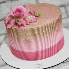 Beautiful Birthday Cakes, 40th Birthday Cakes, Beautiful Cakes, Amazing Cakes, Birthday Gifts, Cake Icing, Buttercream Cake, Fondant Cakes, Cake Decorating Techniques