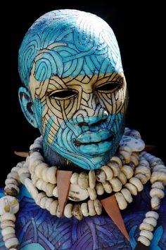 Woodrow Nash's Human Shell Sculpture