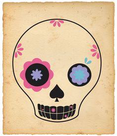 mexican skull ☠ ☠ ☠