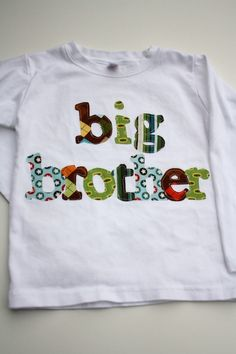 Big Brother Shirt Great for Family Pics by roundthebendagain, $25.95
