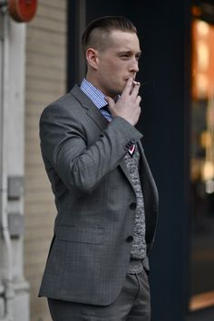 love this outfit, minus the cigarette... and the smell.