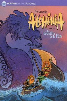 Alchimia, par Frévin, professeur d'illustration et de mise en scène au CESAN - www.cesan.fr