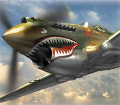 The P-40.  Ever since I was around 11 years old and started reading stories of the Flying Tigers and Gen. Claire Chennault's exploits I was hooked.