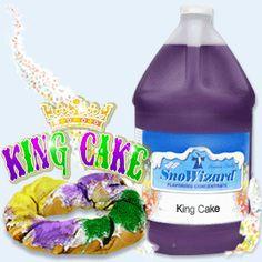 Flavors_King-Cake | SnoWizard, Inc