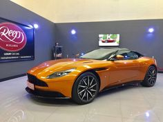 If we ever needed a reason to come to work this morning then here it is in the form of a brand new, straight from the Aston Martin production line, V12 DB11 in Madagascar Orange.  We have taken delivery of this vehicle at our Studio on our clients behalf to apply the revolutionary self-healing PPF (Paint Protection Film) to the front of the car to protect it from scratches, stone chips and any other nasties the road can thrown at her.
