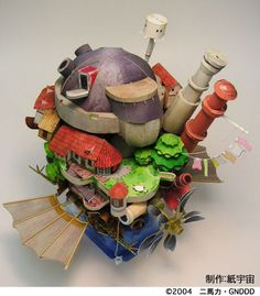 howl's moving castle..its so perfect. if only it was life size...