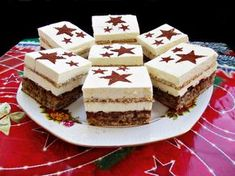 Romanian Desserts, Romanian Food, Baking Recipes, Cake Recipes, Dessert Recipes, Biscuits, Pastry Cake, Sweet Cakes, Something Sweet