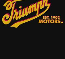 Vintage Triumph motorcycles Est 1902 by Triumph Motorcycles, Company Logo, Neon Signs, Logos, Bike, Vintage, Bicycle, Triumph Bikes, Logo