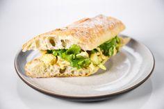 the chew | Recipe  | Michael Symon's Chicken Curry Sandwich