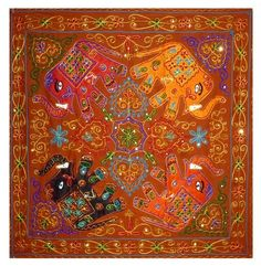 Indian table tapestry