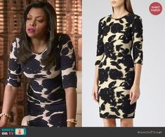 Reiss Lavine Dress worn by Taraji P. Henson on Empire Star Fashion, Fashion Show, Fashion Outfits, Women's Fashion, Tv Show Outfits, Cool Outfits, Studded Sandals, Queen, Work Attire