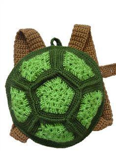 backpack turtle crochet - Pesquisa Google